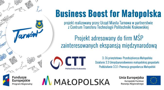 Business Boost for Małopolska